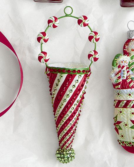"""Christmas Cornucopia"" Ornament"