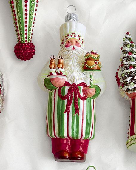 """Brillat-Savarin"" Chef Santa Ornament"