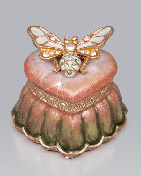"""""""Arielle"""" Bee Heart Box"""