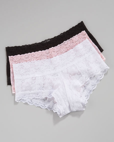 Felicity Lace Boy Shorts