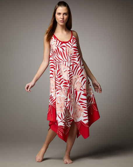 Tropical Retreat Gown