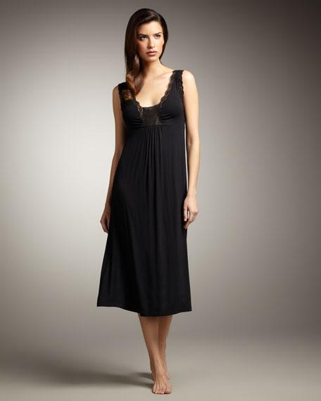 Twilight Lace-Trim Gown