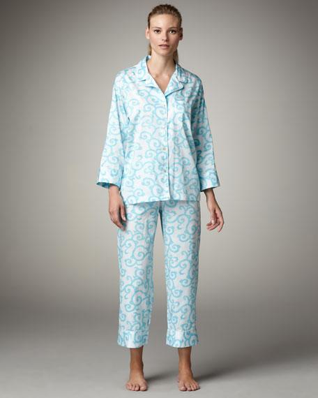 Suzu Scrollwork Pajamas