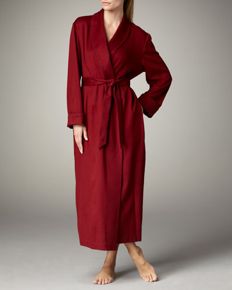 Cashmere Robe, Light Pomegranate