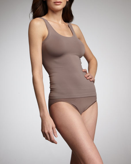 Touch Feeling High-Cut Briefs, Warm Taupe