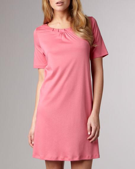 Jasmine Mercerized Sleepshirt, Rose
