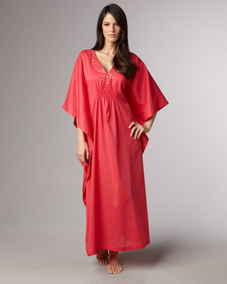 Long Affinity Caftan, Passion Pink