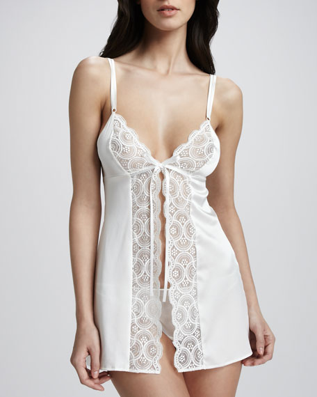 Baroque Soft Babydoll & Panty