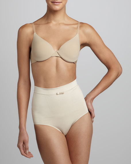 High-Waist Briefs, Nude