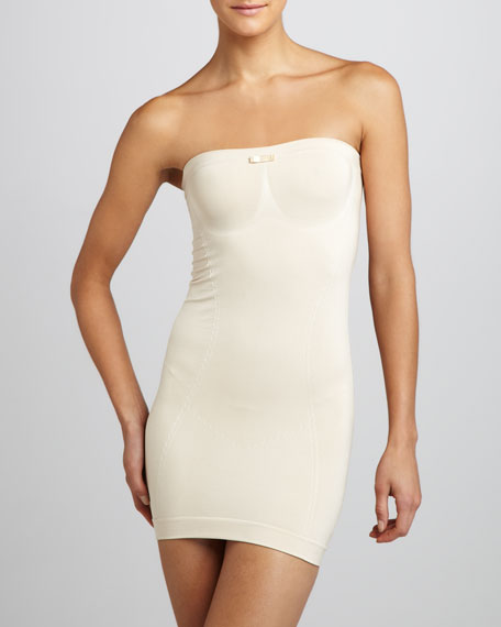 Shapewear Dress, Nude