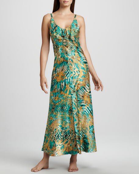 Jewel Reflections Long Gown