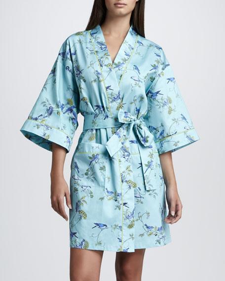 Blue Bird Kimono