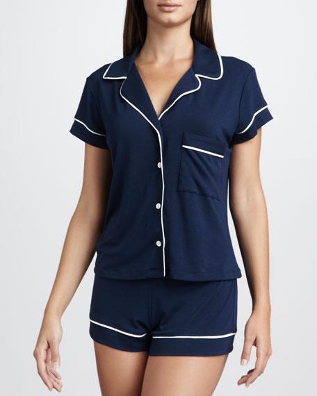 Gisele Short Pajamas, Navy