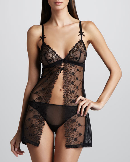 Kiss Kiss Babydoll & Briefs Set