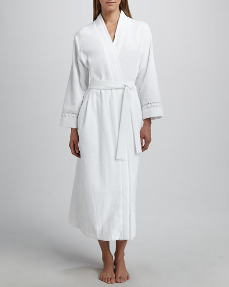Long Double-Face Terry Robe