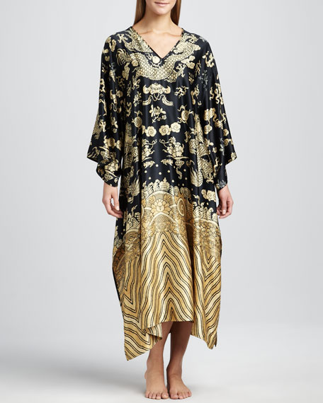 Dragon Satin Caftan