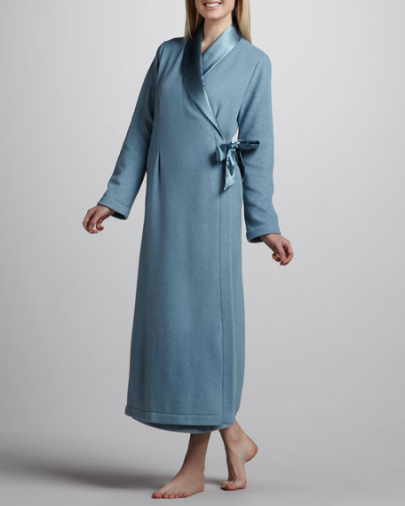 Michelle Long Robe, Blue