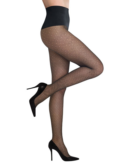 Dainty Dots Net Tights
