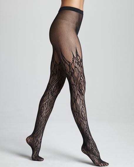 Fire Net Tights