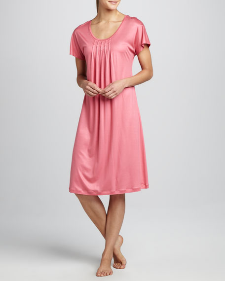 Easy Lover Short-Sleeve Gown