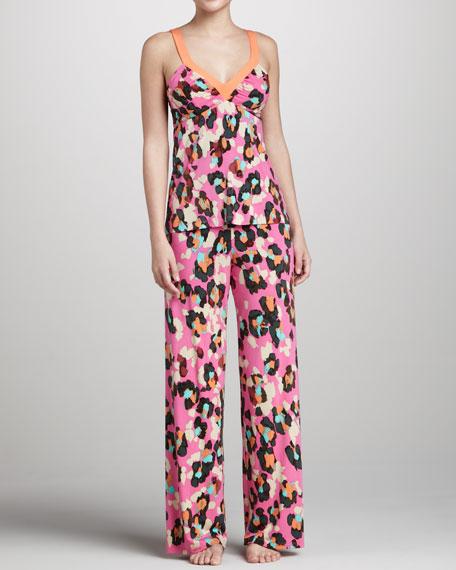 Claude Floral-Print Pajama Pants