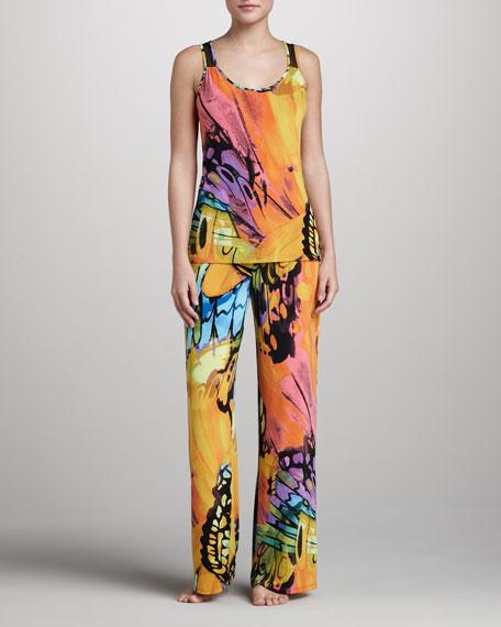 Gobi Printed Jersey Pajamas