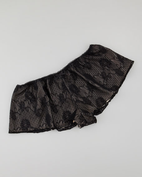 Luxe Lace Tap Pants