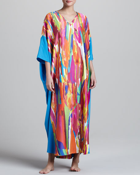 Palau Printed Caftan, Long