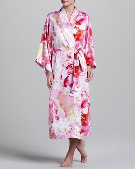 Belarocca Floral-Print Robe
