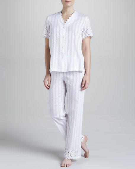 Delicate Eyelet Pajamas