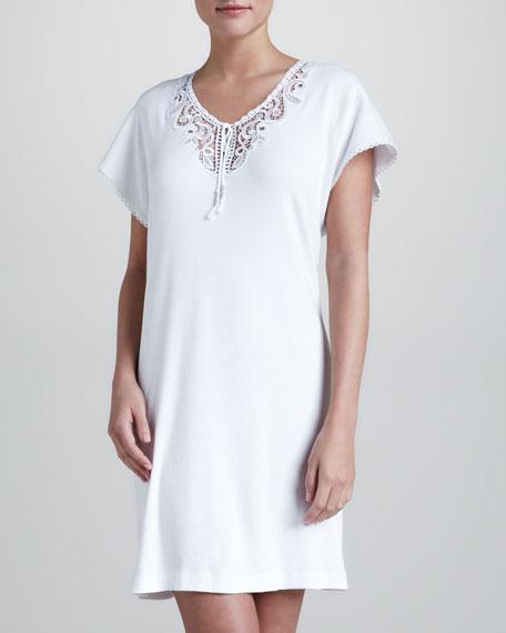 Luxe Comfort Jersey Gown, Short