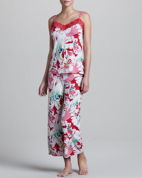 Island Flower Camisole Pajamas