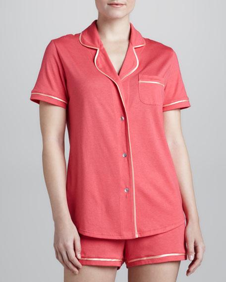 Amore Short Jersey Pajamas