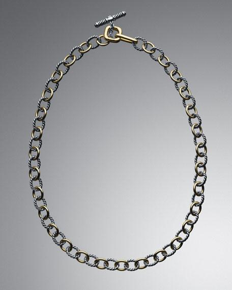 Mini Oval-Link Necklace