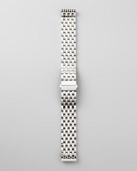 16mm Deco 7-Link Watch Bracelet, Stainless Steel