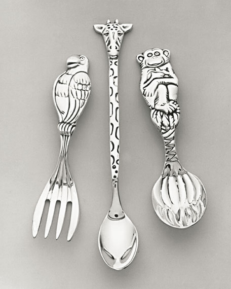 Safari Baby Flatware