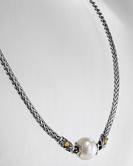 Pearl Jaisalmer Station Necklace