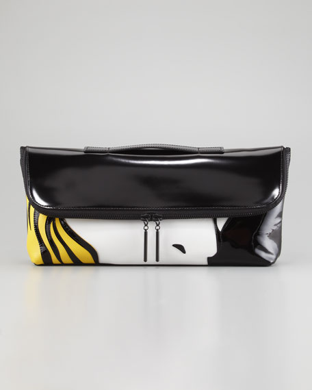 31 Minute Breakup Fold-Over Clutch Bag