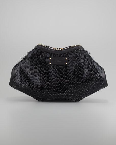 Eyelash De-Manta Clutch Bag