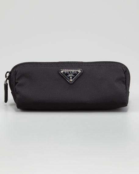 Triangle Logo Cosmetic Bag