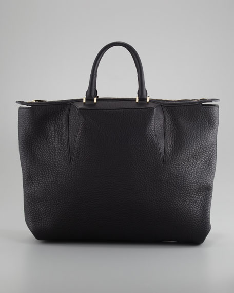 Liner Tote Bag, Black