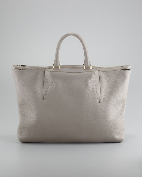 Liner Tote Bag, Oyster Gray
