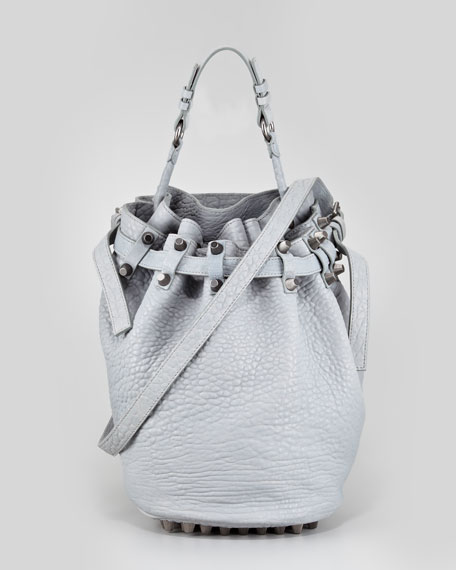 Diego Drawstring Bucket Bag