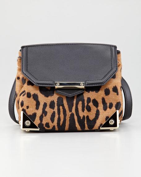 Marion Leopard-Print Clutch Bag