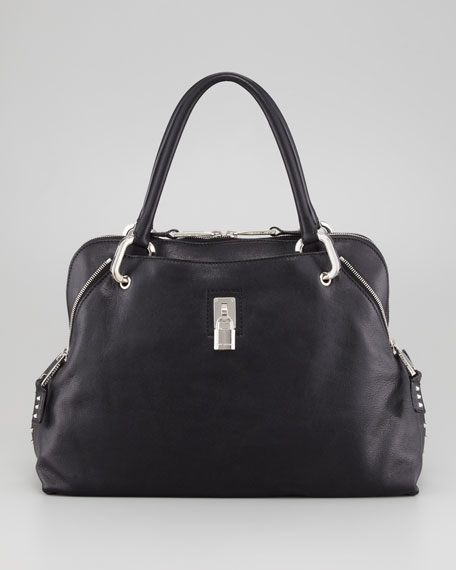 Paradise Rio Satchel Bag, Black