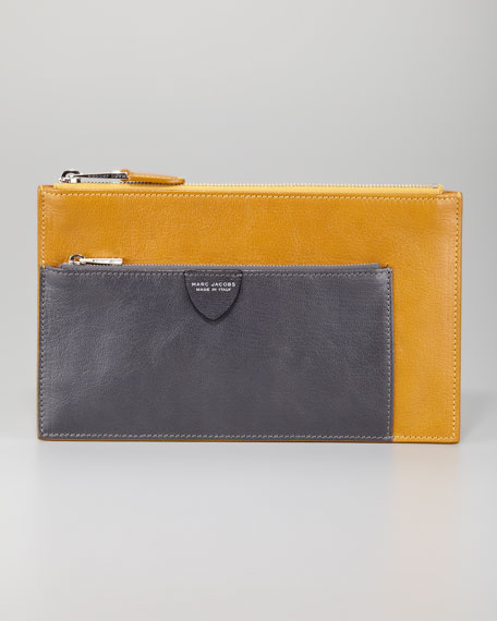 Multi Small Pouch, Yellow