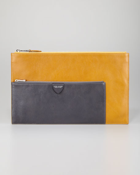 Multi Large Pouch, Yellow