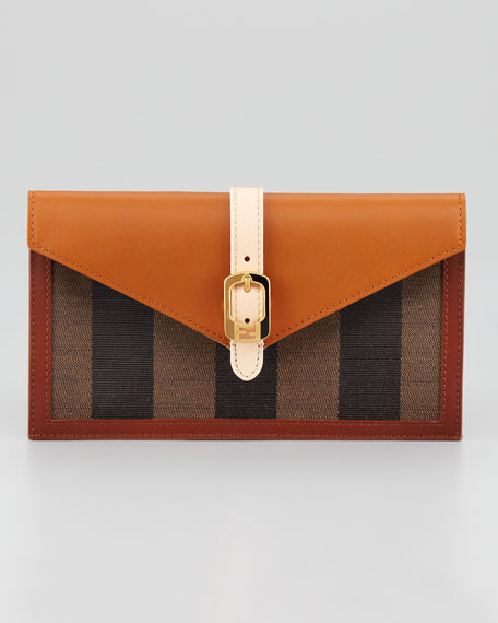 Belted Envelope Clutch Bag, Extra Small