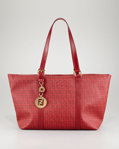 Zucca Large Tote Bag, Red