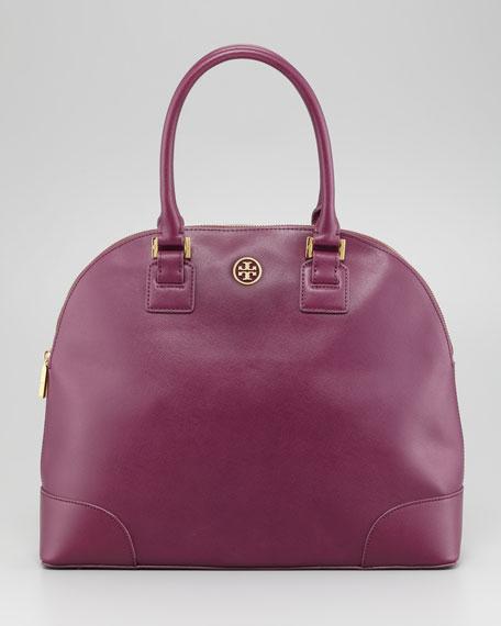 Robinson Dome Satchel Bag, Pretty Violet